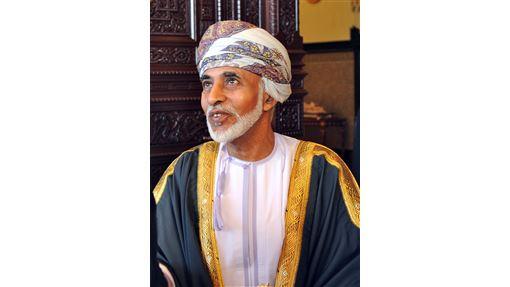 阿曼國王喀布斯(Qaboos Bin Said al-Said)(圖/維基百科)