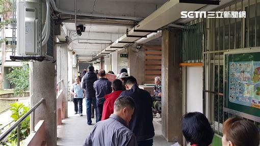 投票所(▲台北內湖國中732投票所(圖/記者劉彥池攝影))