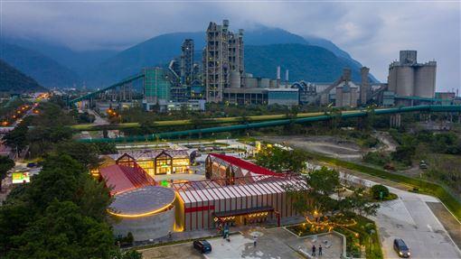 ▲台泥花蓮和平廠全新打造的「DAKA開放生態循環工廠」(圖/雲朗觀光集團提供)