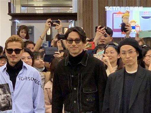 放浪兄弟林志玲老公AKIRA記者鄭尹翔攝影