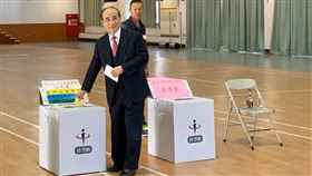王金平投票,王辦提供