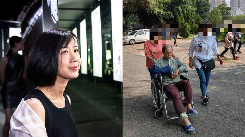 車禍重傷剛開完刀 72歲翁忍痛投票