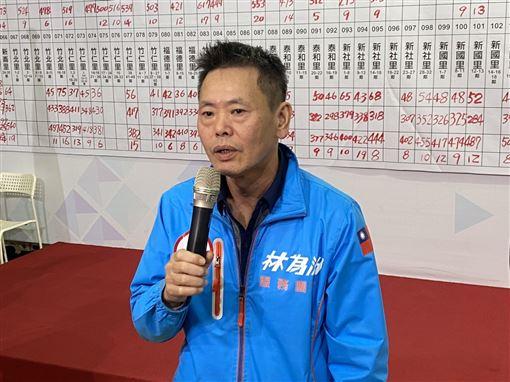 國民黨新竹縣第一選區立委候選人林為洲
