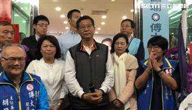 國民黨立委候選人傅大偉與嘉義市市長黃敏惠(翻攝自影片)