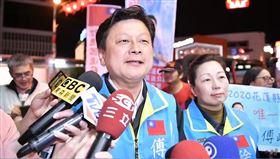 傅崑萁勝選受訪