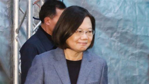 蔡英文勝選連任國際記者會(圖/林聖凱攝影)