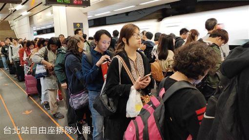 民眾投票現返鄉人潮 交通部曝疏運情形:花東列車尚有車票,交通部提供