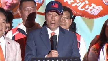 宋楚瑜,郭台銘,親民黨選前之夜