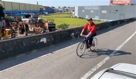 陳柏惟腳踏車謝票!從「烏日飆霧峰」…一路高歌狂喊:3Q(圖/翻攝自陳柏惟臉書)