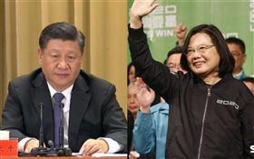 蔡英文,勝選,中國,習近平(合成圖/資料照)