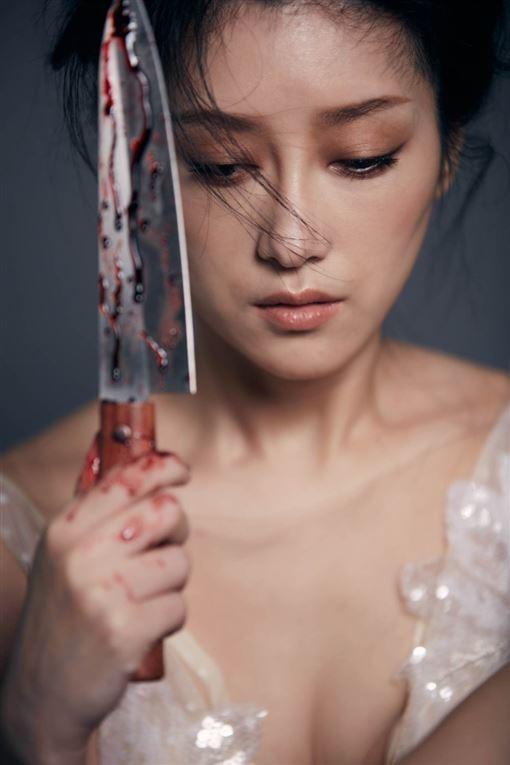 金曲歌后李婭莎(Sasha)發行最新台語專輯《毒糖仔》照片提供:滾石唱片