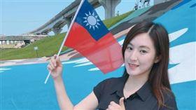 韓國瑜敗選何庭歡「不後悔」!PO文告白:我愛韓國瑜▲。(圖/翻攝自何庭歡臉書)