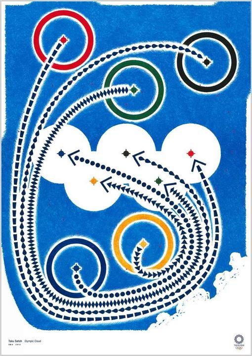 奧運,東京,海報,漫畫