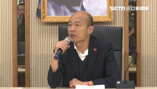 韓國瑜上工第2天...行程曝光不給問?睽違3個月做這事
