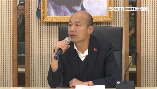 選後韓國瑜回高雄市府上班