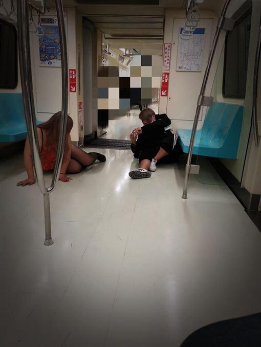 台北,捷運,外拍,黑絲