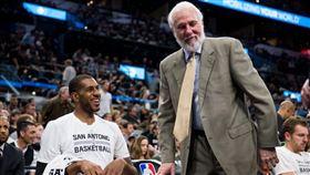 NBA/子弟兵大進化 波總爆笑解釋 NBA,聖安東尼奧馬刺,Gregg Popovich,LaMarcus Aldridge,三分球 翻攝自推特