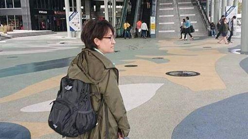 蕭美琴連任失敗…PO背影照準備北上移交 惹大批網友落淚圖/翻攝自蕭美琴臉書