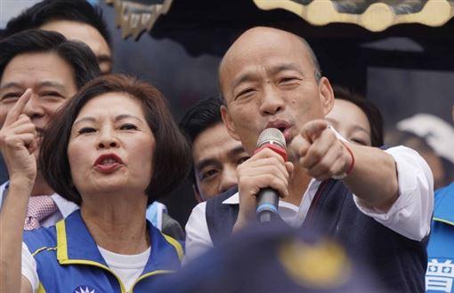 韓國瑜日前辯論會嗆媒體可憐哪。