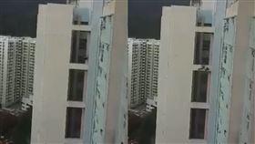 香港,自殺,油塘,被自殺,詭異,墜樓,跳樓,影片,意識,遺書,反送中 圖/翻攝自YouTube