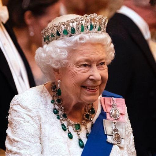 哈利王子,梅根,英國王室,英國女王 (圖/翻攝自theroyalfamily IG)