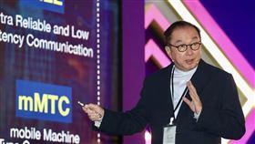 林百里出席全球科技領袖高峰論壇「2019全球科技領袖高峰論壇」30日在台北舉行,廣達電腦董事長林百里會中專題演講。中央社記者張皓安攝  108年10月30日