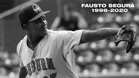 ▲國民新秀瑟古拉(Fausto Segura)車禍身亡。(圖/翻攝自推特)