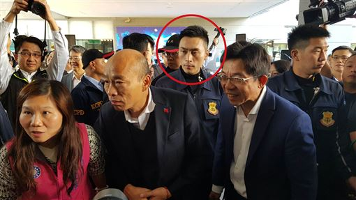 特勤吳彥祖林政宏,貼身保護韓國瑜