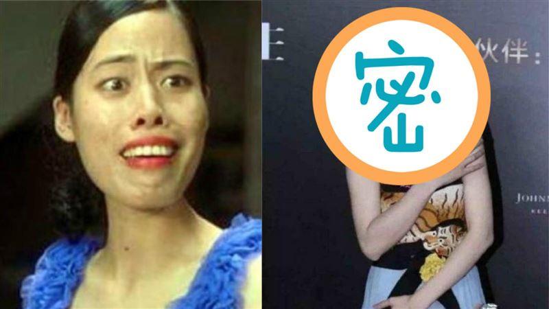 《功夫》齙牙珍大片牙齦+暴牙!真實樣貌曝 竟撞臉王祖賢