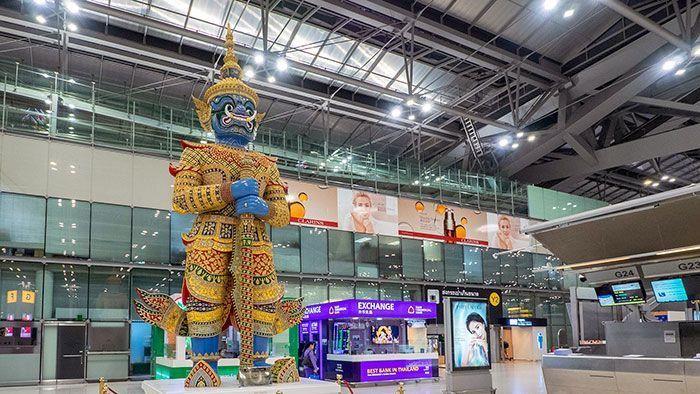 防武漢肺炎疫情隨農曆年擴散 泰國加強機場檢疫