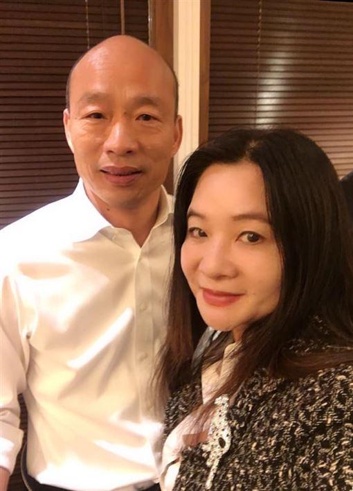 國民黨,韓國瑜,應曉薇圖/翻攝自應曉薇祝您幸福粉專