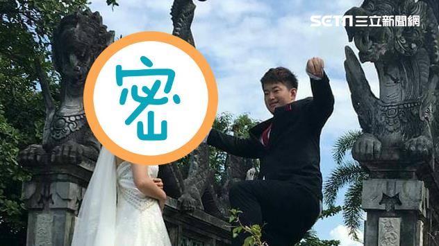 獨/陳太太心碎了!陳柏惟婚紗照曝光 未婚妻阿娟貌如明星