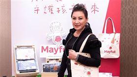陳亞蘭14日出席美福關係企業公益活動。(圖/美福提供)