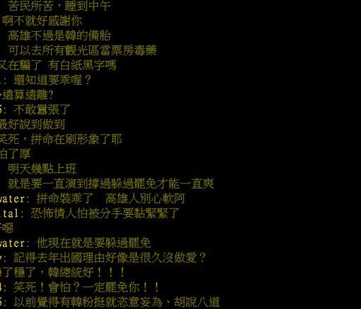 韓國瑜,過年,出國,罷免,高雄,PTT 圖/翻攝自PTT