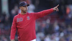 ▲紅襪總教練柯拉(Alex Cora)遭到開除。(圖/美聯社/達志影像)