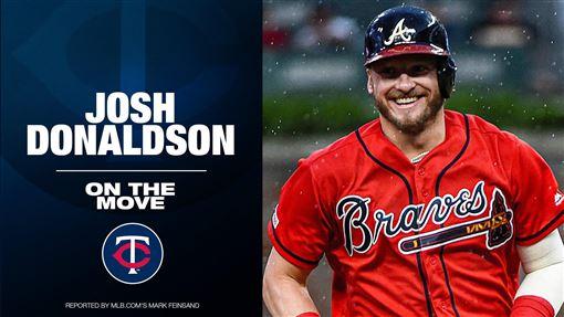 ▲唐納森(Josh Donaldson)4年9200萬美金轉戰雙城。(圖/翻攝自MLB推特)