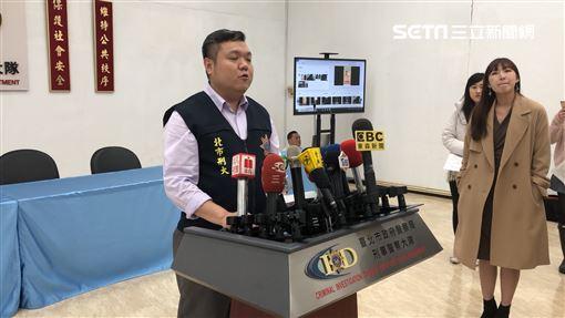台北市刑大偵七隊搗破投資詐騙集團(楊忠翰攝)