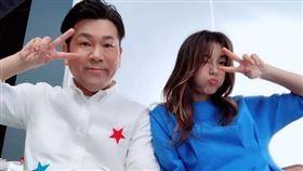 木下優樹菜(右)與諧星尪藤本敏史宣布離婚。(圖/翻攝自木下優樹菜IG)