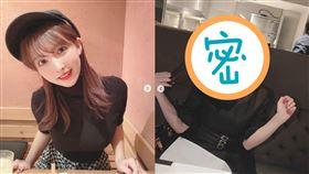 三上悠亞新造型曝!網驚見「甜美女神」又暈了:快被可愛死(圖/翻攝自IG)