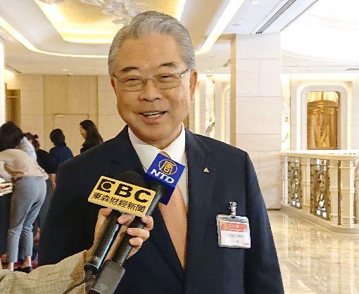 許勝雄樂觀看2020年  期盼兩岸朝合則利方向邁進展望2020年,三三會理事長許勝雄認為,中國是台灣重要出口市場,大家應努力找到穩健和平發展的方法。中央社記者潘姿羽攝 109年1月15日