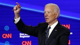 美國,民主黨初選,辯論,桑德斯,拜登(AP)