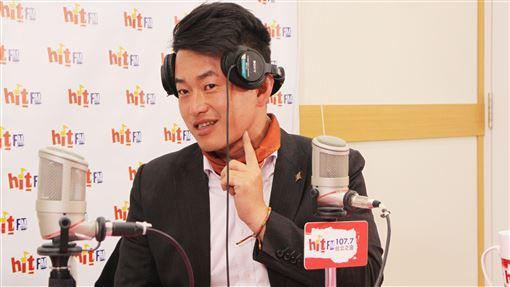 陳柏惟(圖/Hit Fm《周玉蔻嗆新聞》製作單位提供)