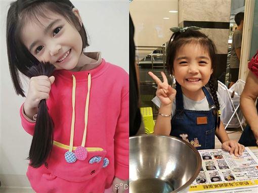 不當長髮公主!5歲女童捐髮助癌童:要幫很多人 暖哭網友。(圖/吳小姐授權提供)
