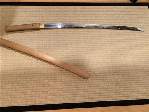 消失的國界-武士刀(圖/消失的國界)