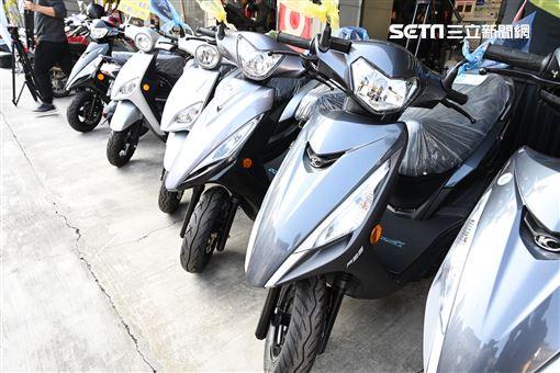 ▲台灣依舊以燃油車為銷售主力。(圖/鍾釗榛攝影)