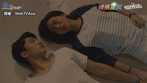 ▲呂晉宇在戲裡與兩位女主角皆有不少對手戲。(圖/WebTVAsia 授權)
