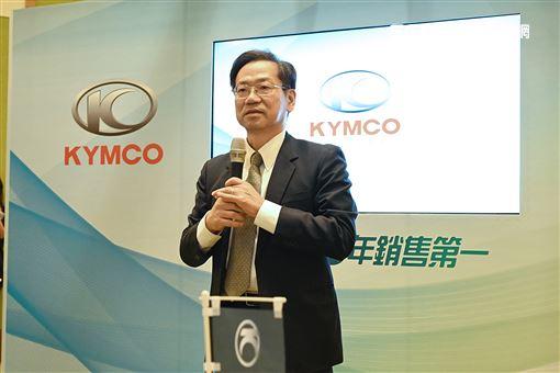 ▲KYMCO執行長柯俊斌表示,國家政策確實影響市場很深。(圖/鍾釗榛攝影)