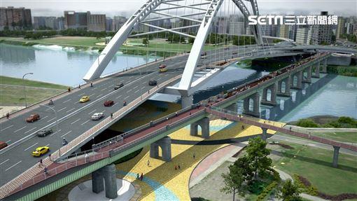 中正橋,改建,交通管制 台北市政府工務局提供