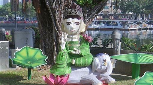 高雄,花燈,燈會,佛光山,美學,韓國瑜