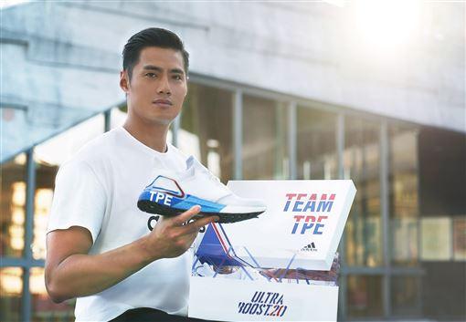 adidas攜手陳偉殷號召運動迷一同穿上城市系列鞋款,力挺Team TPE前進東京。(圖/品牌提供)